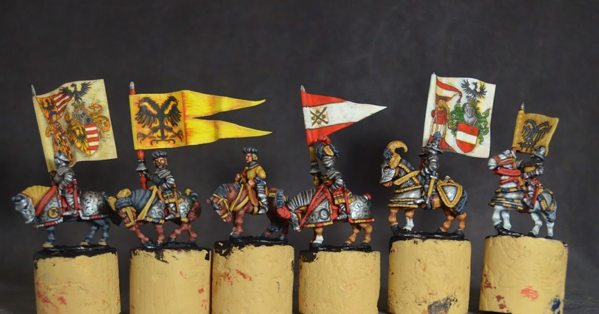 Chrisfigurines 15mm Renaissance German Knights 1