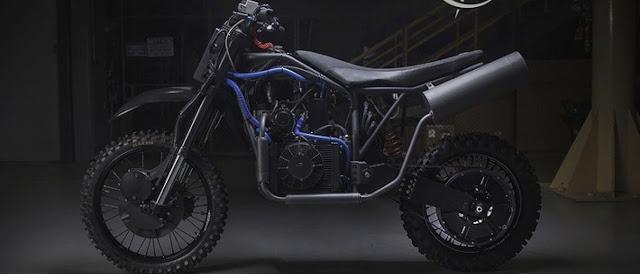 Moto capaz de funcionar com qualquer tipo de combustível