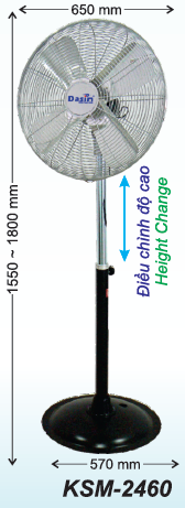 quat dung ksm-2460 canh 600