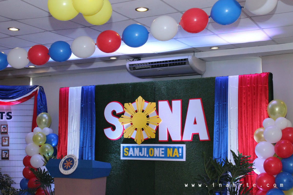 Presidential SONA Stage