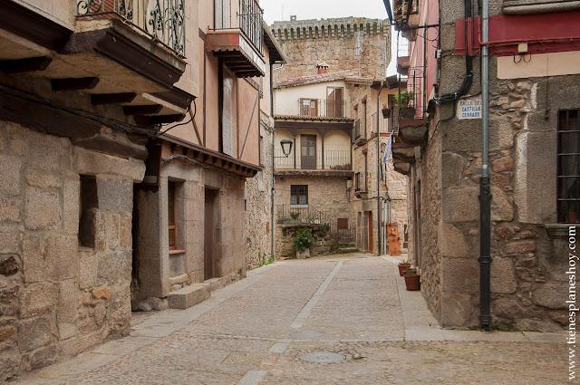 Pueblos bonitos Salamanca MIranda del Castañar