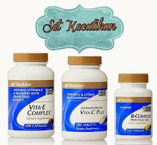 Vitamin C + Vitamin E + B-Complex
