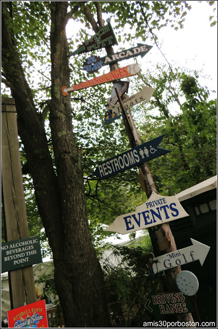 Granjas de Massachusetts: Señalizaciones de la Kimball Farm