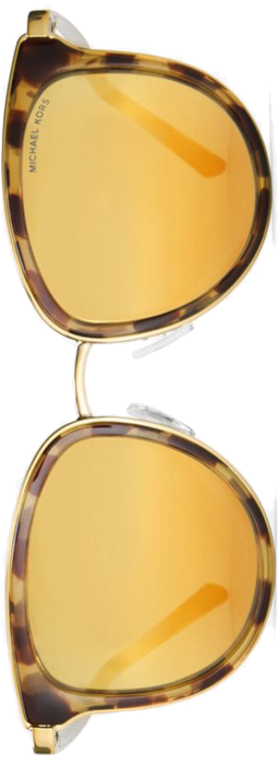 MICHAEL KORS Adrianna I Sunglasses Gold