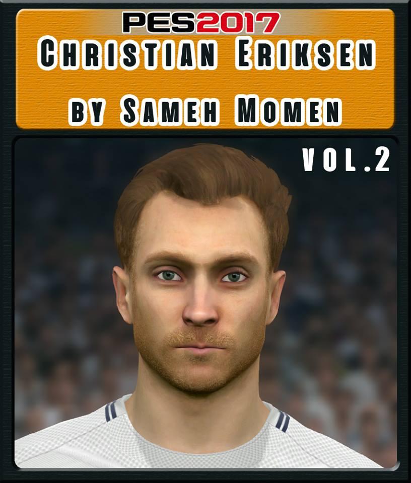 PES 2017 C. Eriksen Vol. 2 Face by Sameh Momen