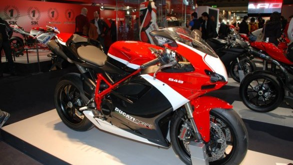 """world automotive center: ducati 848 corse special edition """"more"""