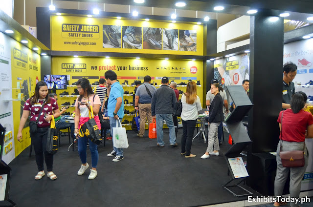 Safety Jogger exhibition booth