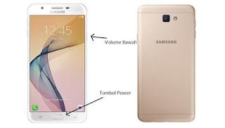 Cara Cepat Screenshot Samsung J5 Prime