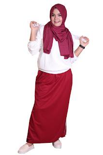 Rok Celana Bahan Lotto Rocella Sporty Marun