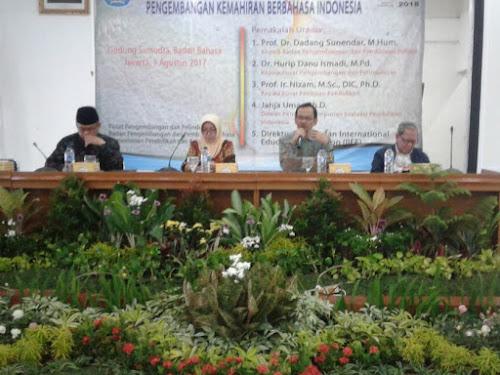 Seminar Nasional Pengembangan Kemahiran Berbahasa Indonesia