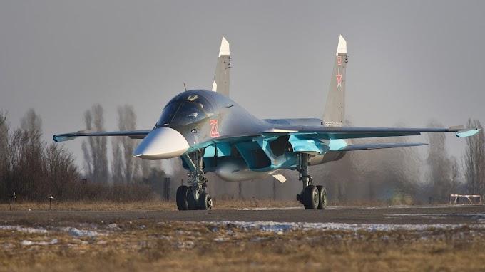 Papel de Parede Jato Sukhoi SU 34