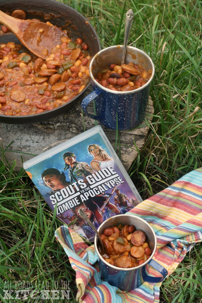 Campfire Beans & Weenies inspired by Scouts Guide to the Zombie Apocalypse