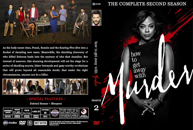 How To Get Away With Murder Season 2 DVD Cover