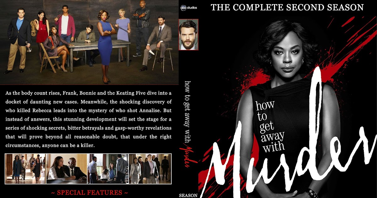 How To Get Away With Murder Season 2 Dvd Cover Cover Addict Free Dvd Bluray Covers And