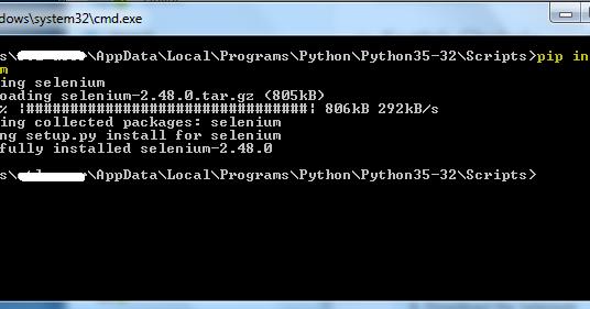 Appium Python - Executing 'Appium-Webdriver' automation script on
