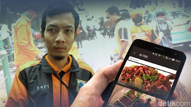 Pelaku Order Go-Food Fiktif