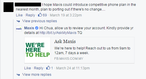 Maxis is under attack due to 'unfair treatment' towards