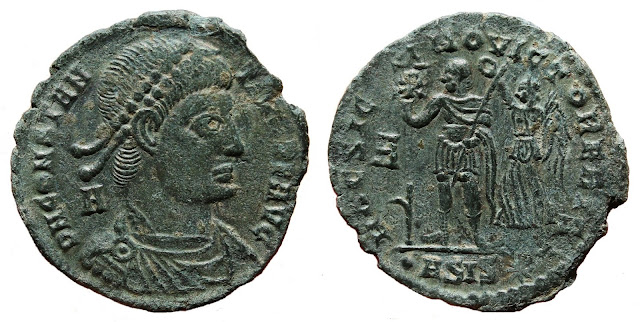 de Siscia a nombre de Constancio II
