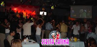 vista salon de baile fiesta latina, centro comercial el pueblo, calle blancos