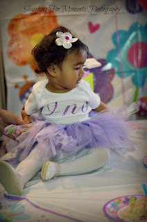 turning mommy - first birthday tutu purple