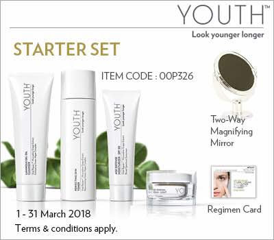 Starter set youth shaklee