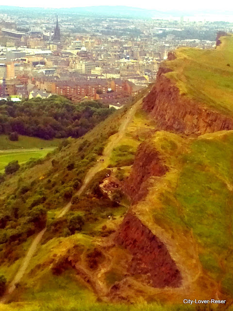 Vandra i Edinburgh- Arthur´s Seat