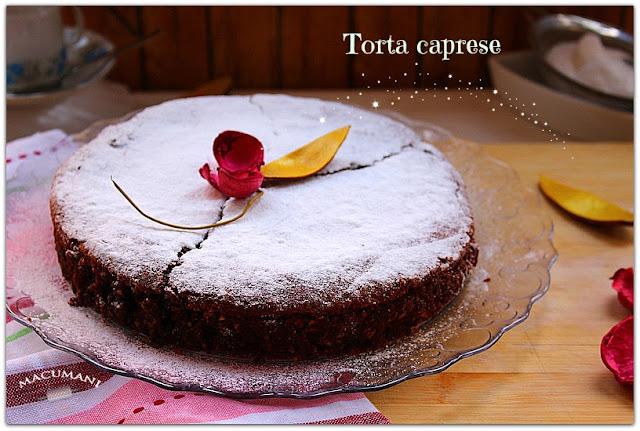 TORTA CAPRESE . MACUMANI