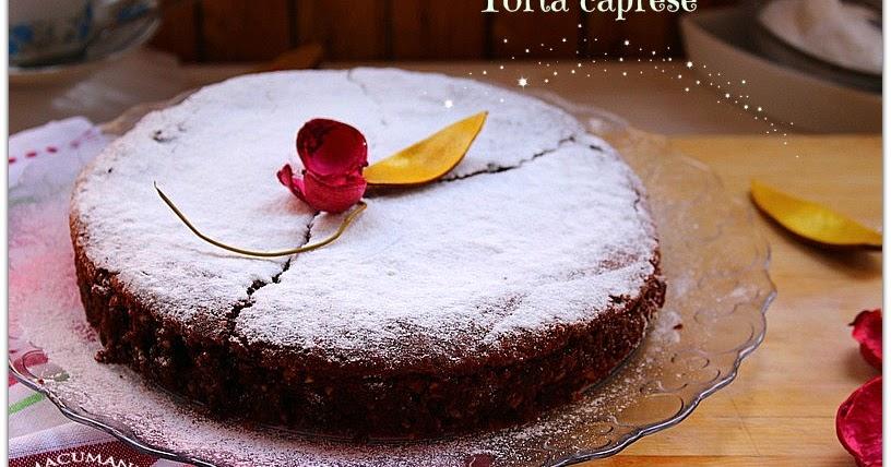 Image Result For Receta Torta Caprese Avellanas