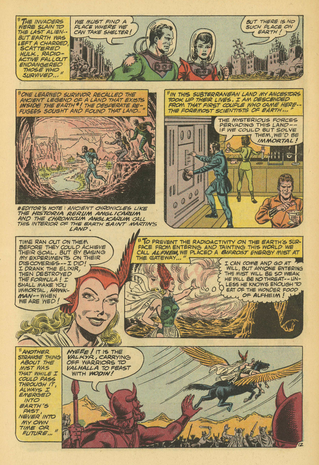 Hawkman (1964) issue 13 - Page 18