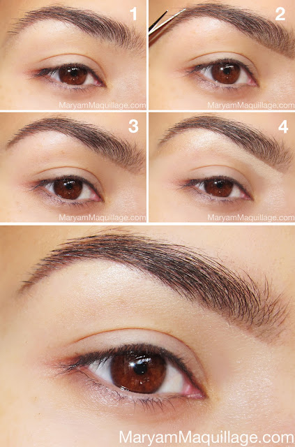 Eyebrow Tutorial: Maryam Maquillage: My Brows, Anastasia Style