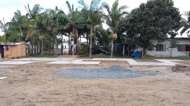 Para incentivar a prática de esportes nos balneários, a Ilha investe na instalação de Ilhas de Lazer no Araçá, Monte Carlo e Cláudia Mara