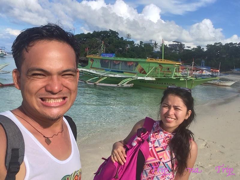 Manoc-Manoc Beach Boracay Island Philippines - Amazing White Sand Beach and Jetty Port