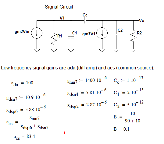 MOSFET Circuit SPICE Level 1 Simulation - MathCAD/LabVIEW/LTspice