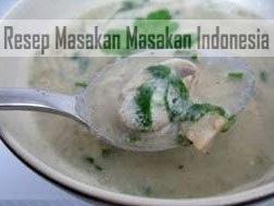 Resep Masakan Sup Krim Jamur
