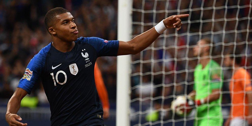 Cuplikan Skor UEFA Nations League: Prancis 2-1 Belanda