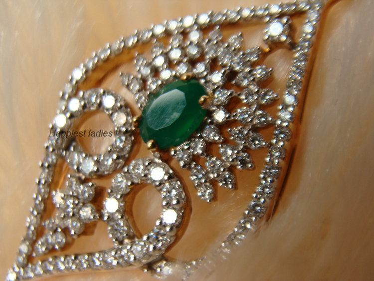 Kalyan Jewellers Designs Diamond Pendants Indian Jewelry