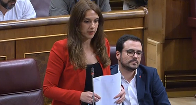 Repaso de Noelia Vera al ministro Marlaska por el caso Villarejo