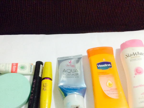 Current Product Empties (Maybelline, I-White, Etude House, etc,)