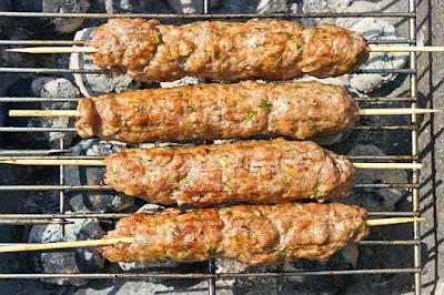 Kebab z kurczaka, prosto z ogniska