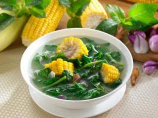 Cara Memasak dan Resep Sederhana Sayur Bening Bayam Yang Segar