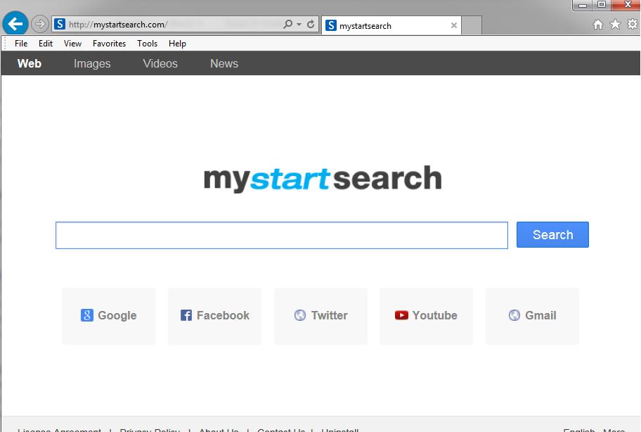 Eliminar Mystartsearch.com Secuestrador de Navegadores