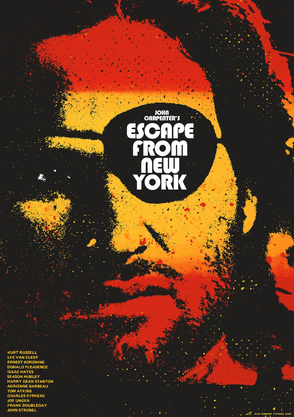 The Geeky Nerfherder: Cool Art: 'Escape From New York' by ...