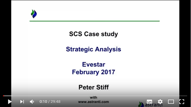 Strategic Analysis of the pre-seen Februray 2017 - CIMA Strategic Case Study - SCS - Evestar Reality