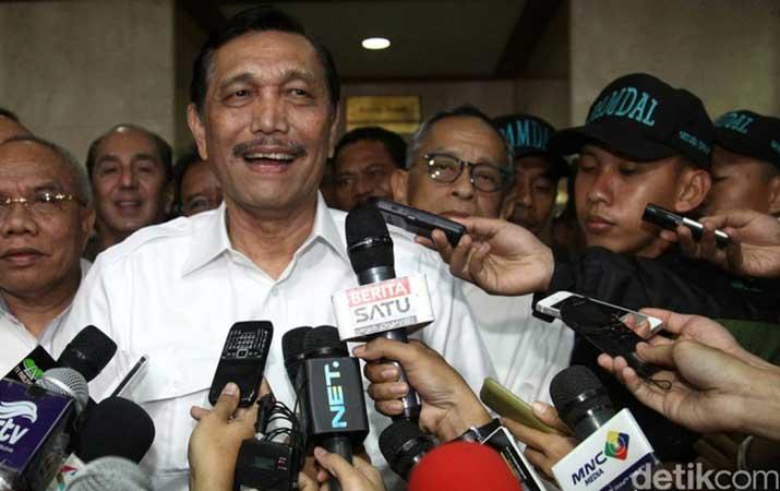 Bantah Impor LNG Dari Singapura, Luhut: Saya Bukan 'Lacur'