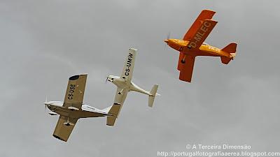 Voo em Formação - FlyBy em Alqueidão