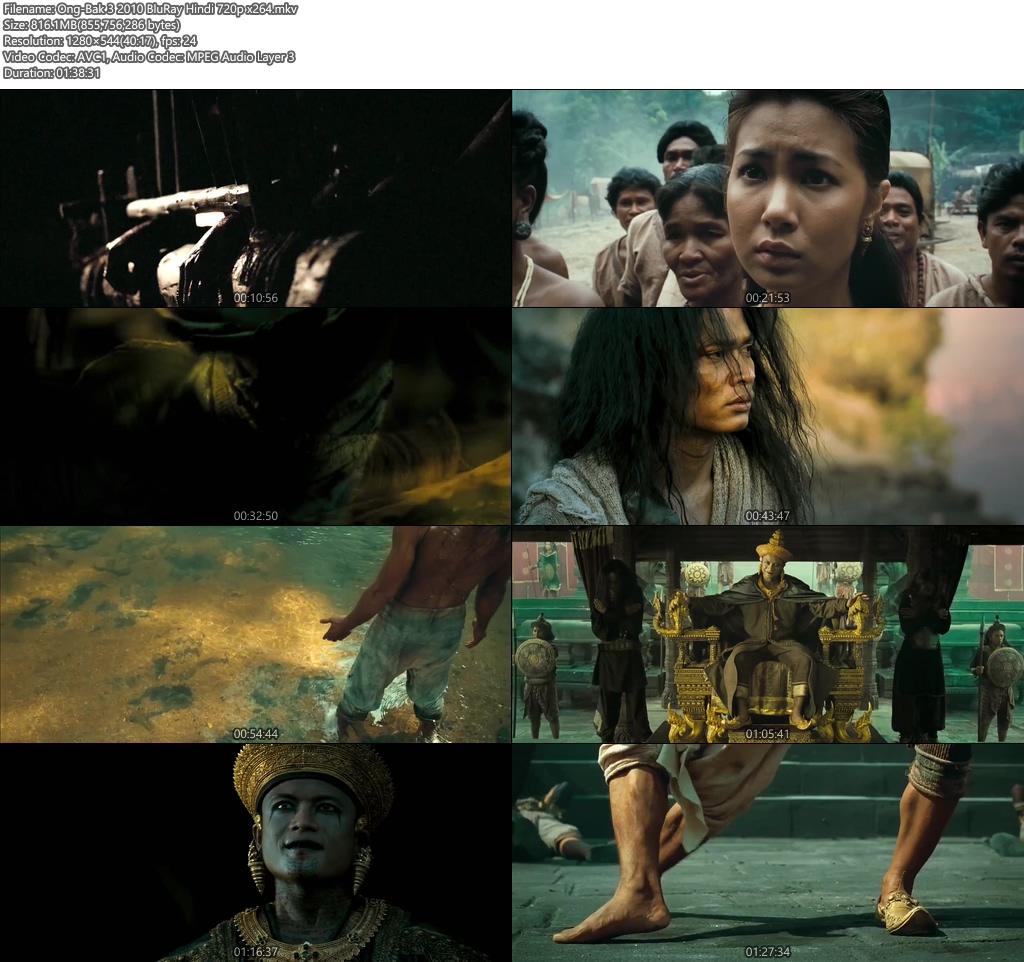 Ong-Bak 3 2010 BluRay Hindi 720p | 480p 300MB | 100MB HEVC x264 Screenshot