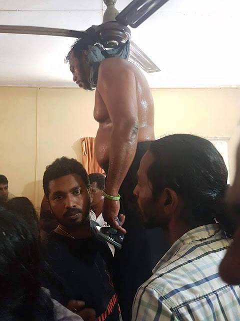 Thewarapperuma in suicide attempt