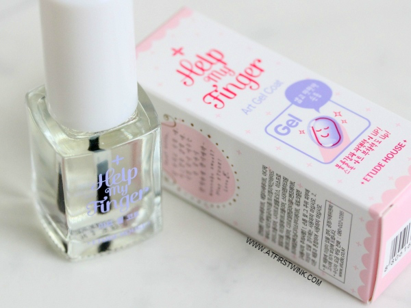 Etude House Help my Finger Art Gel Coat review