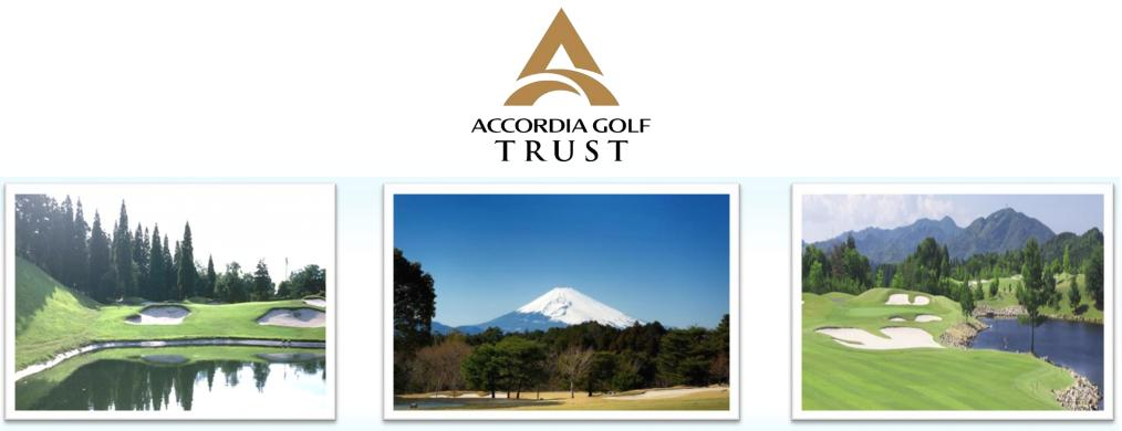 Accordia golf trust ipo