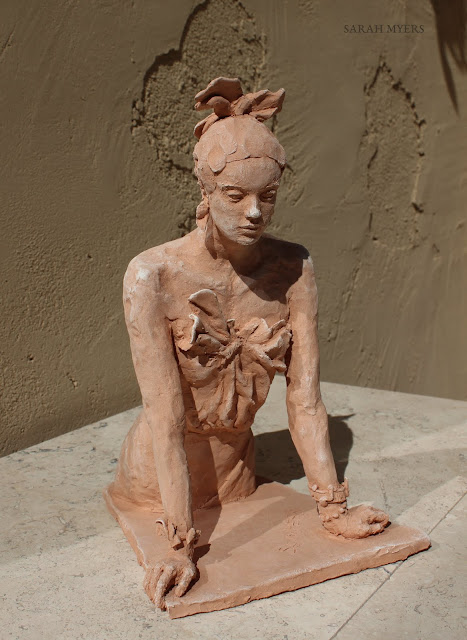 art, arte, sculpture, escultura, design, bracelets, sarah, myers, bows, figure, figurative, terracotta, clay, earthenware, ceramic, ceramica, contemporary, modern, realistic, jewellery, fashion, style